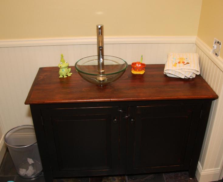 reclaimed bathroom furniture. Barnwood Bathroom Vanity In Black Reclaimed Furniture T