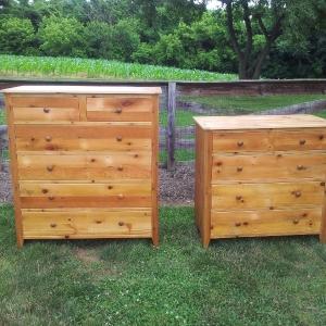 Natural Pine Barnwood Dressers