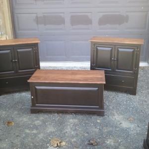 Reclaimed Barnwood Bedroom Furniture Set