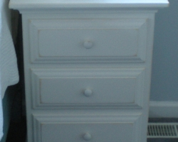 White Pine Barnwood Bedroom Furniture