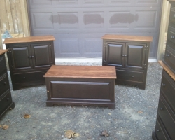 Reclaimed Barnwood Bedroom Furniture Set
