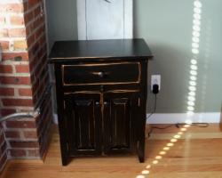 Black Barnwood Bedroom Furniture