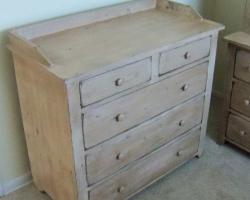 Reclaimed Barnwood Changing Table