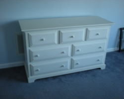 Reclaimed Barnwood Bedroom Furniture in White