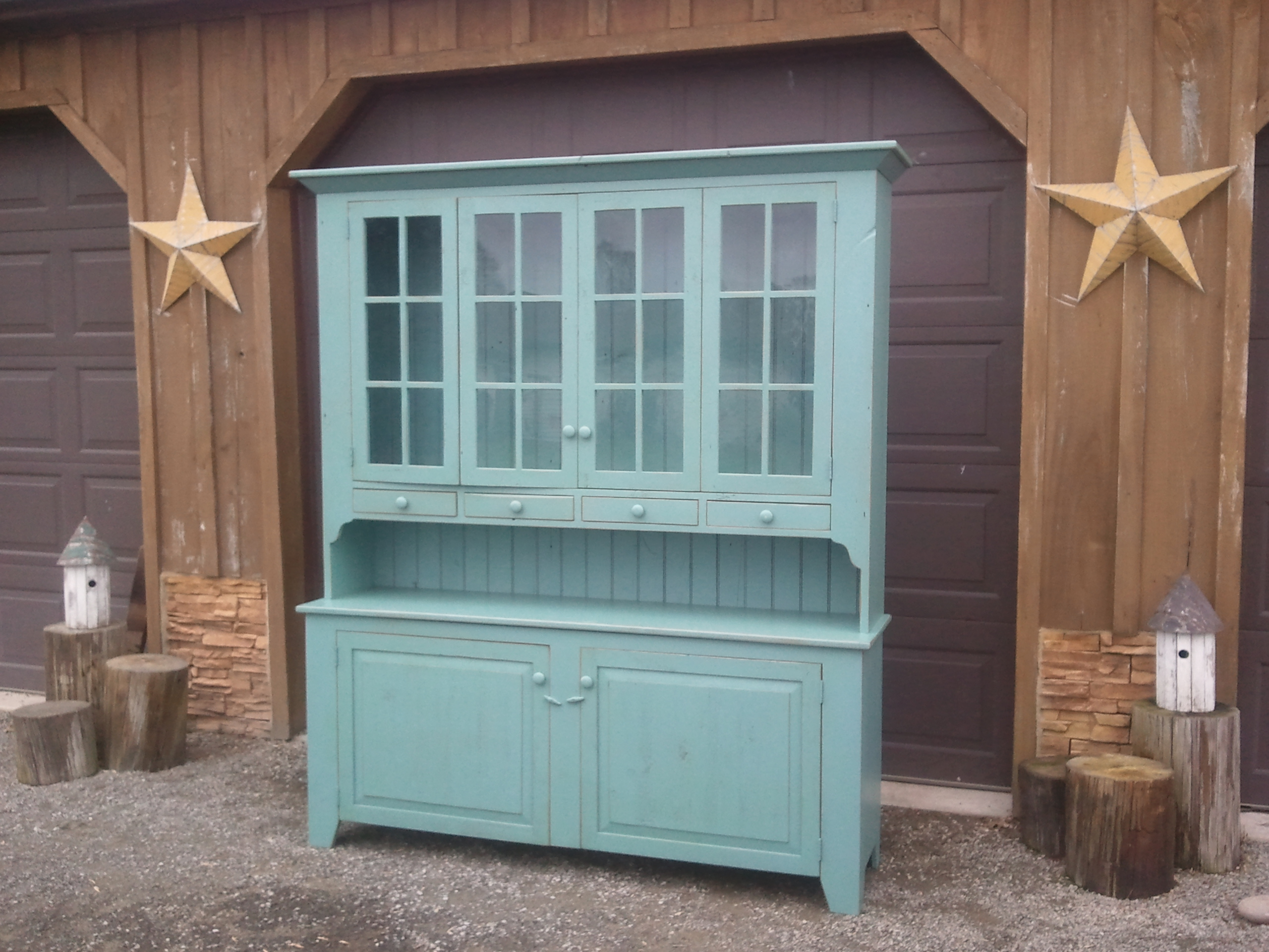 Old Barn Star | Barnwood Buffets and Hutches Gallery