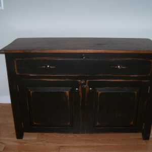 4ft stanard buffet with drawers