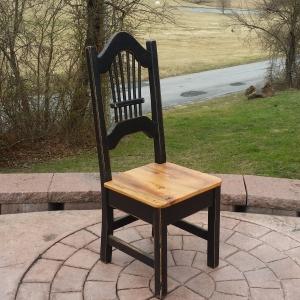 Rustic Sheaf Back Chair