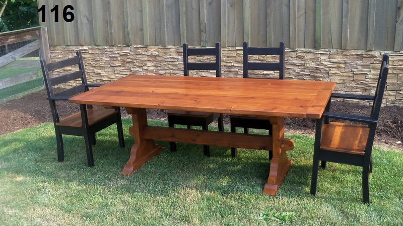 Amish Made Reclaimed Barn Wood Furniture Old Star