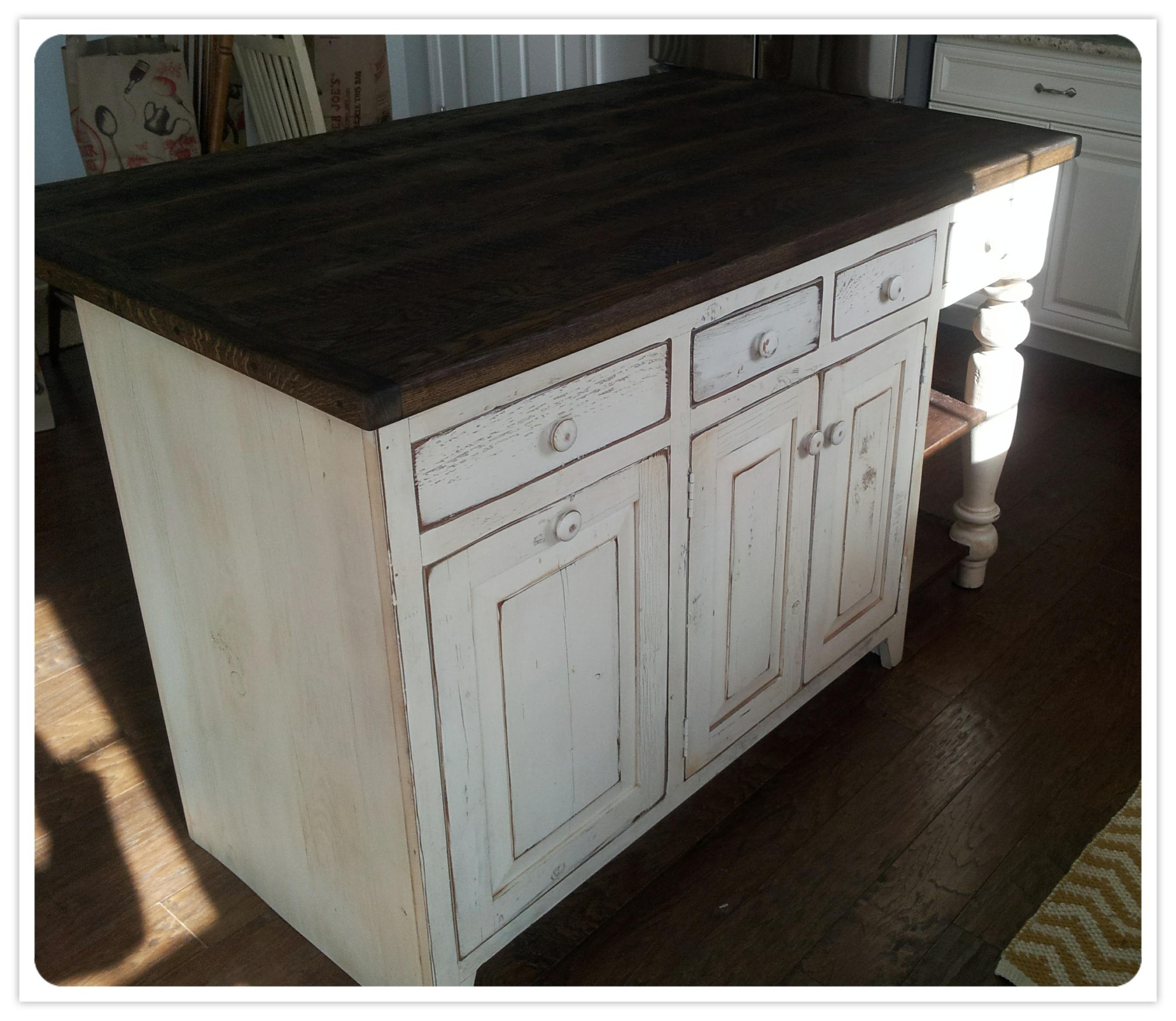 amish made kitchen islands reclaimed wood kitchen island 5 1 2 ft reclaimed pine island