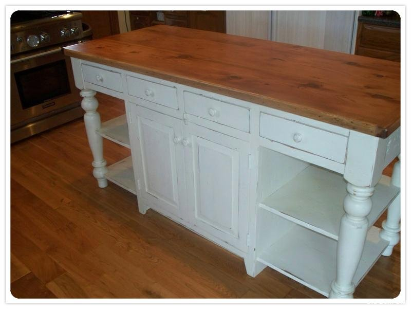 Amish Made Kitchen Islands Reclaimed Wood Kitchen Island