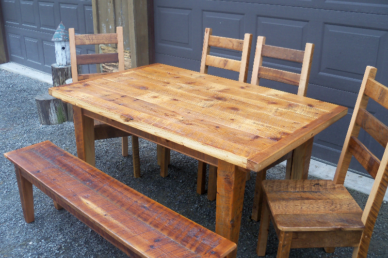 Old Barn Star | Reclaimed Barnwood Tables Gallery