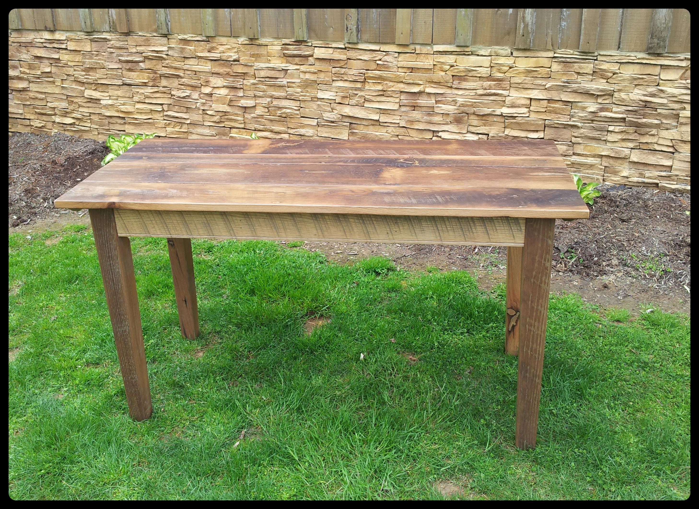 Elegant 4 Ft Thin Top Oak
