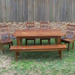 5 ft Reclaimed pine table