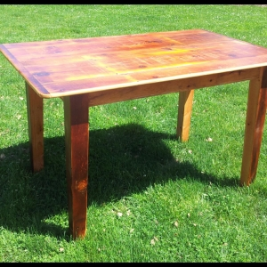 5 ft thin top table