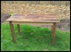 4 ft thin top Oak