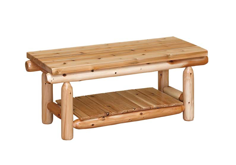 White Cedar Log Furniture White Cedar Chests Beds And Tables