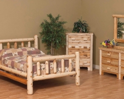 Rustic Log Bedroom Set