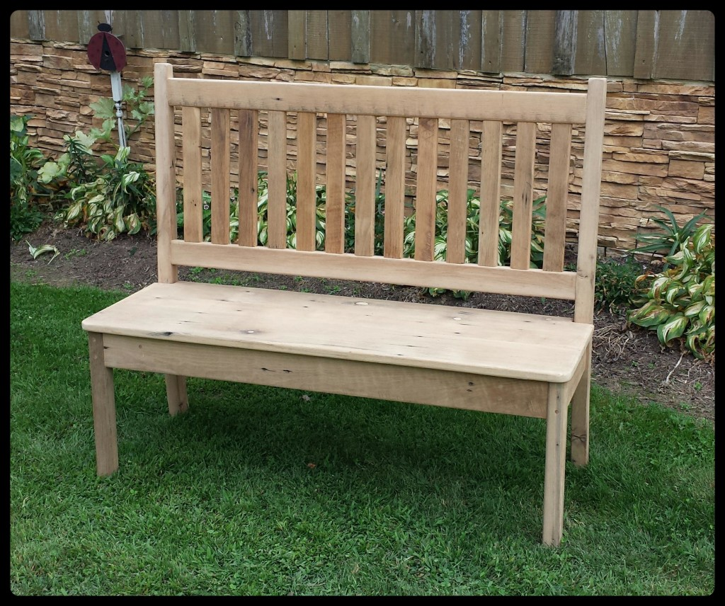 5ft Reclaimed Oak Mission bench Unfinished Special $ 395.00