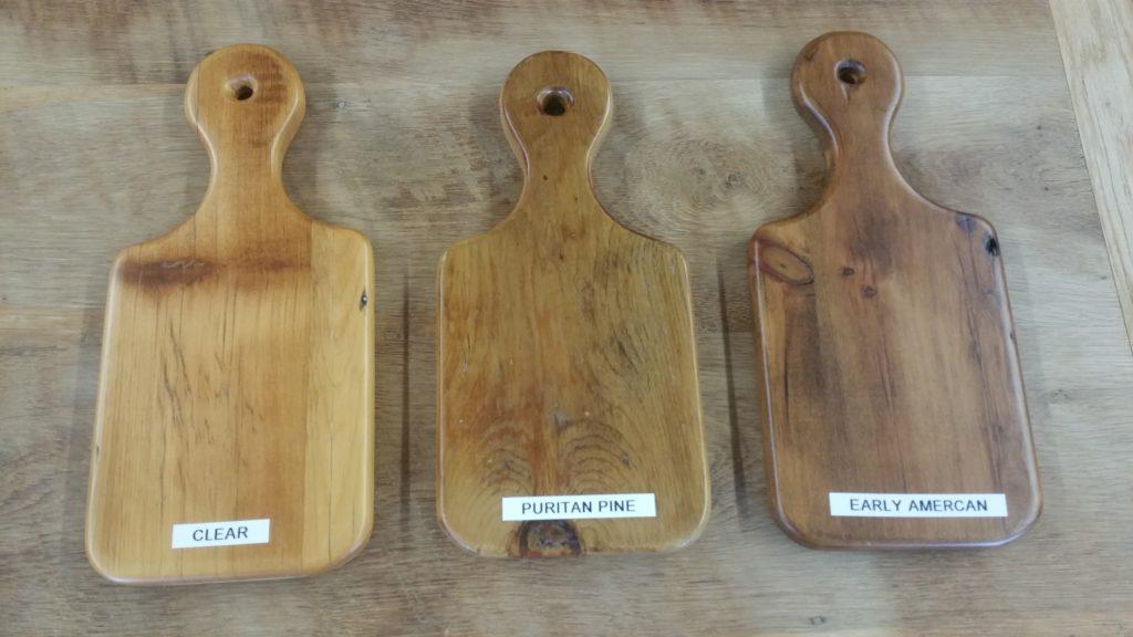 Reclaimed Pine Samples