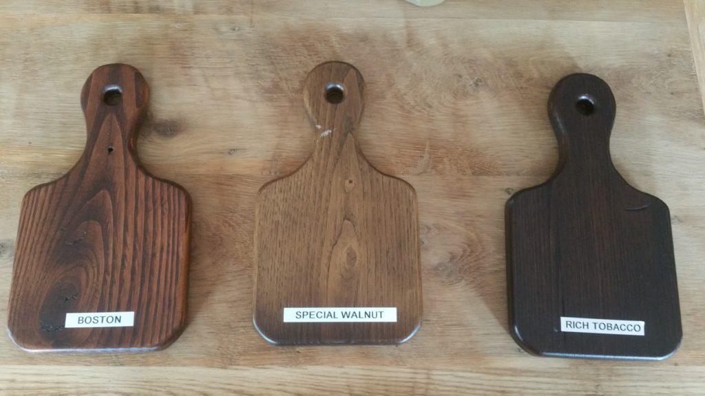 Reclaimed Chestnut Samples