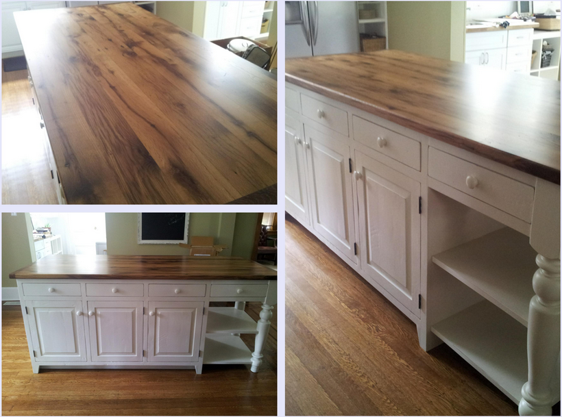 How A Reclaimed Kitchen Island Can Enhance Your Home - Amish kitchen island