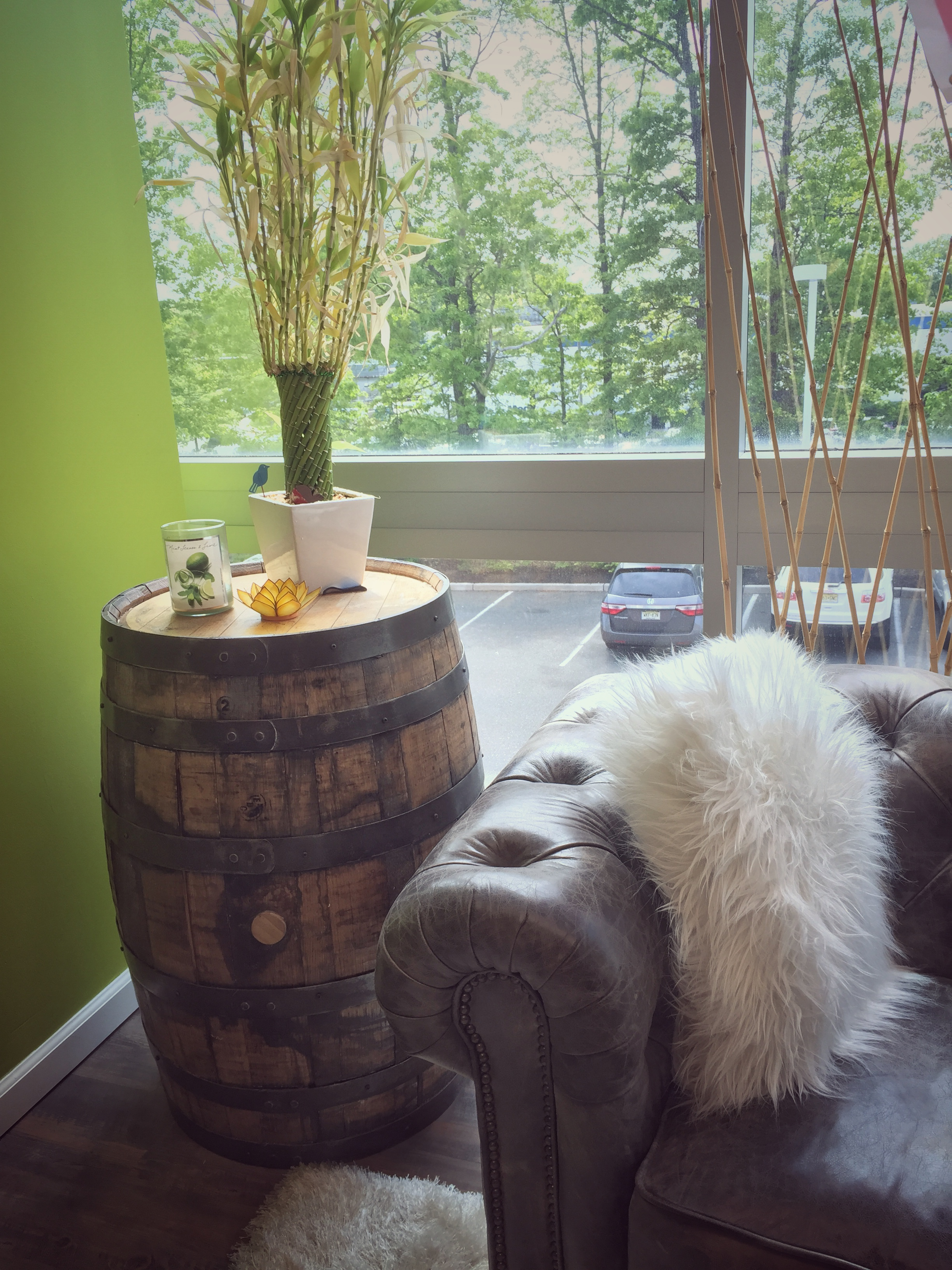 Decorate Your Home With Reclaimed Wine Barrels