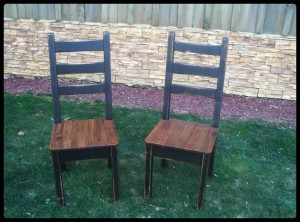 reclaimed wood chairs