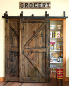 barnwood sliding door